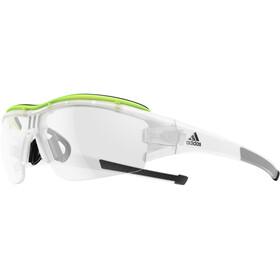 adidas Evil Eye Halfrim Pro Cykelglasögon gul/transparent